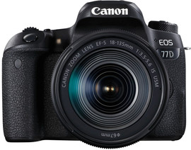 Canon EOS 77D Kit + EF-S 18-135mm f/3.5-5.6 IS USM