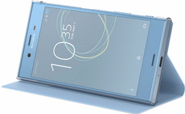 Sony Xperia XZs Style Book Case Blauw