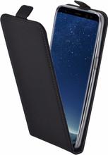 Mobiparts Premium Galaxy S8 Flip Case Zwart