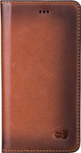 Senza Desire Leather iPhone 6/6s Book Case Bruin