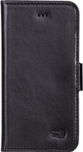 Senza Pure Leather Wallet iPhone 5/5S/SE Book Case Zwart