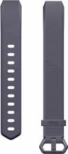 Fitbit Alta HR Kunststof Polsband Grijs Small