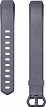 Fitbit Alta HR Lederen Polsband Blauw Large