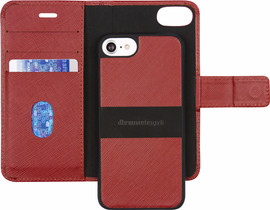 DBramante1928 New York iPhone 6/6s/7/8 Book Case Rood