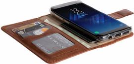 Krusell Sunne Galaxy S8 Book Case Bruin