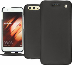 Noreve Tradition Huawei P10 Plus Flip Case Zwart