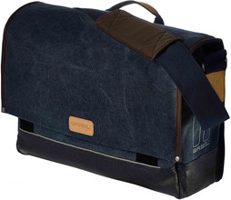 Basil Urban Fold Messenger Bag 20L Denim Blauw