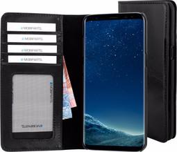 Mobiparts Excellent Wallet Galaxy S8 Book Case Zwart