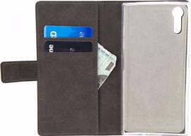 Mobilize Classic Gelly Wallet Xperia XZs Book Case Zwart