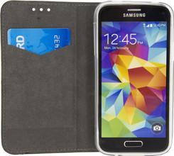 Mobilize Premium Gelly Book Case Galaxy S5 Mini Zwart