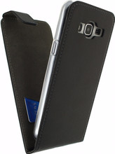 Mobilize Classic Gelly Flip Case Galaxy J3 (2016) Zwart