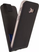 Mobilize Classic Gelly Galaxy A5 (2017) Flip Case Zwart
