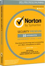 Norton Security Premium 2018 | 10 Apparaten | 1 Jaar