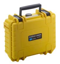 B&W type 500 geel met plukschuim
