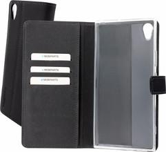 Mobiparts Premium Wallet TPU Xperia XA1 Ultra Book Case Zwar