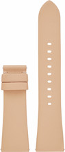 Michael Kors 22mm Lederen Horlogeband Beige