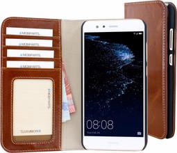 Mobiparts Excellent Wallet P10 Lite Book Case Bruin