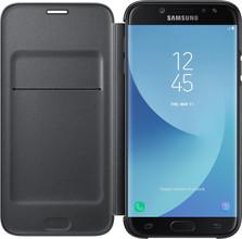 Samsung J7 (2017) Wallet Book Case Zwart