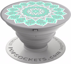 PopSocket Peace Tiffany Expanding Stand/Grip Beige
