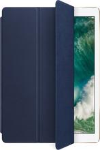 Apple iPad Pro 12,9 Leren Smart Cover Middernachtblauw