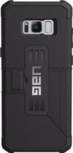 UAG Metropolis Galaxy S8 Plus Book Case Zwart2