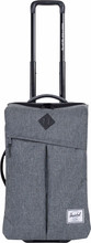 Herschel Campaign Raven Crosshatch/Black Pebbled Leather