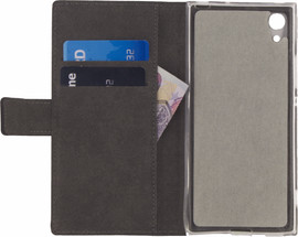 Mobilize Classic Gelly Wallet Sony Xperia XA1 Book Case Zwar