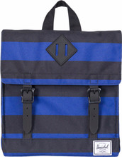 Herschel Survey Kids Black/Surf the Web Stripes
