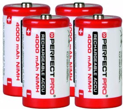 Perfectpro 4 x C Batterijen