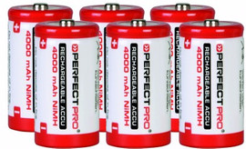 Perfectpro 6 x C Batterijen
