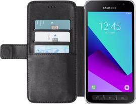Azuri Wallet Magneet Galaxy Xcover 4 Book Case Zwart