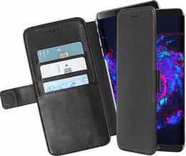 Azuri Wallet Magneet Galaxy S8 Plus Book Case Zwart