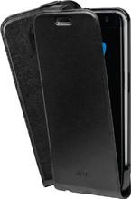 Azuri Flip CS Galaxy S7 Edge Flip Case Zwart