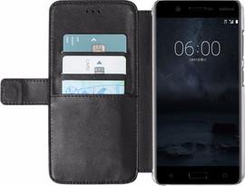 Azuri Wallet Magneet Nokia 5 Book Case Zwart