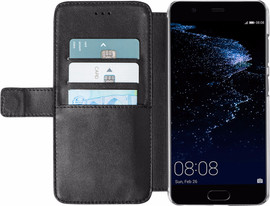 Azuri Wallet Magneet P10 Plus Book Case Zwart