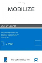 Mobilize Huawei Y6 (2017) Screenprotector Plastic Duo Pack