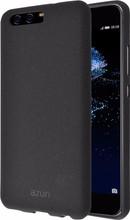 Azuri Flexible Sand Huawei P10 Back Cover Zwart