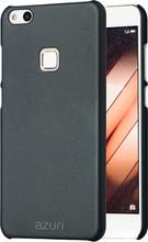 Azuri Metallic Soft Touch Huawei P10 Lite Back Cover Zwart