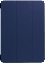 Just in Case iPad 12.9 (2017) Smart Tri-Fold Case Blauw