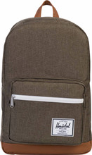 Herschel Pop Quiz Canteen Crosshatch/Tan Synthetic Leather