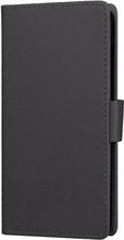 Just in Case Wallet Wileyfox Swift 2X Book Case Zwart