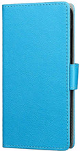 Just in Case Wallet Wileyfox Swift 2X Book Case Blauw