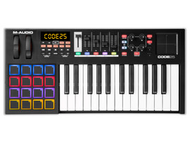 M-Audio Code 25 Zwart