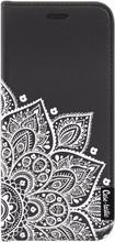 Casetastic Wallet Galaxy S8 Book Case Floral Mandala Zwart