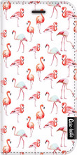 Casetastic Wallet iPhone 6/6s Book Case Flamingo Party Wit