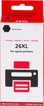 Pixeljet 26XL (T2631) Cartridge Fotozwart