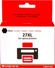 Huismerk Epson 27 XL Cartridge Zwart (C13T27114010)