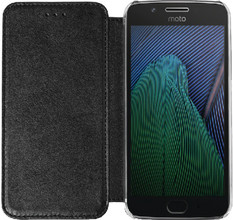 Azuri Booklet Moto G5 Plus Book Case Zwart
