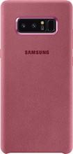 Samsung Galaxy Note 8 Alcantara Back Cover Roze