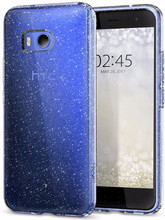 Spigen Liquid Crystal Glitter HTC U11 Back Cover Transparant